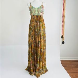 Raga Floral Embroidered Maxi Dress